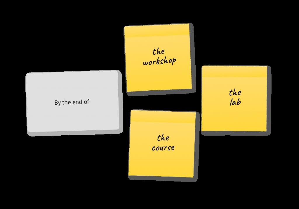 Learning Objective Design Deck Expansion Pack - Step 1